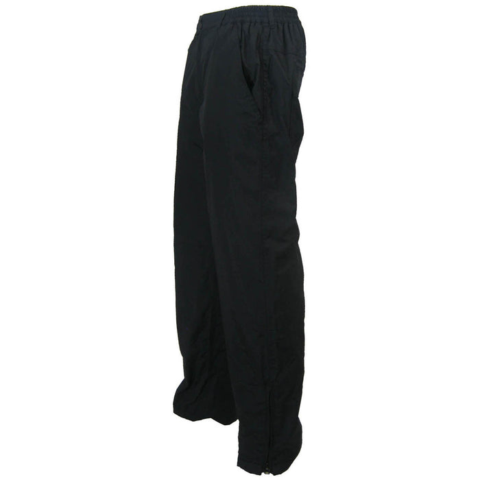 NYLON PANTS LINED WITH 100% POLAR FLEECE POLYESTER - Black Safety Pearl