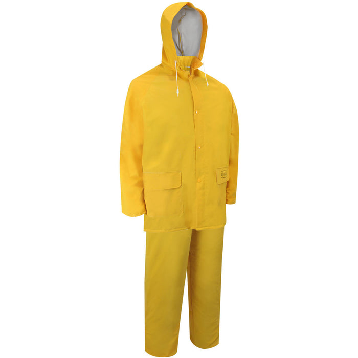 NYLON RAIN SUIT. JACKET AND BIB PANTS