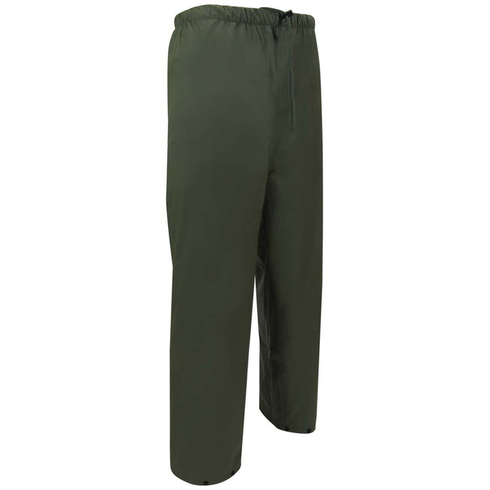 POLYURETHANE WATERPROOF PANTS - Black Safety Pearl