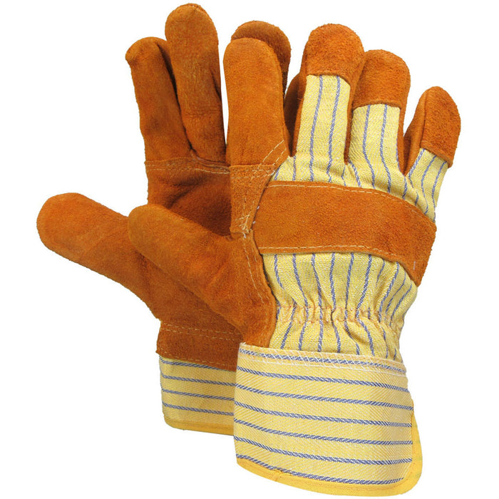 Leather work glove(Pack of 3 pairs)