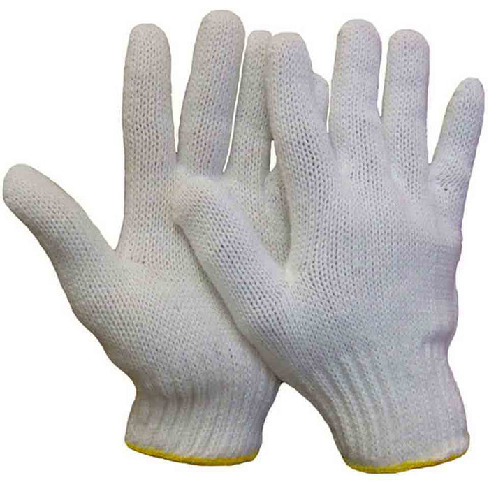 Knit glove(Pack of 6 pairs) - Black Safety Pearl