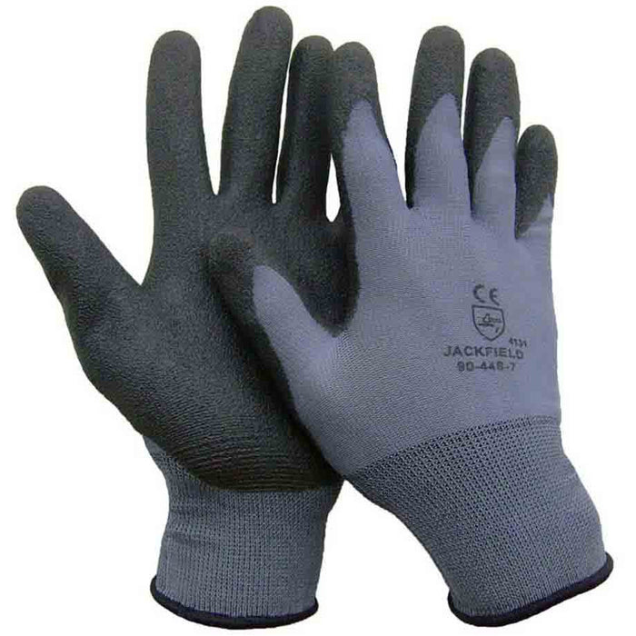 PVC glove(Pack of 6 pairs) - Black Safety Pearl