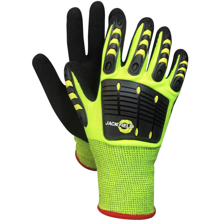 MECHANIC GLOVE - Black Safety Pearl