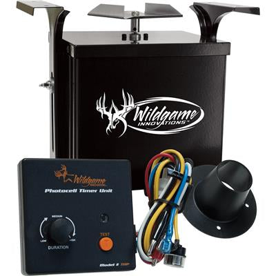 WILDGAME DUSK/DAWN FEEDER KIT 6 VOLT