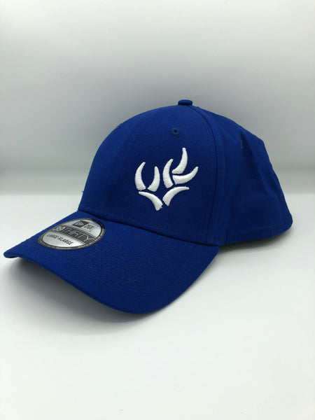 WHO NEW ERA® - ROYAL/WHITE STRUCTURED STRETCH COTTON CAP