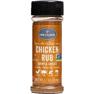 FIRE AND FLAVOR SEASONINGS CHICKEN RUB