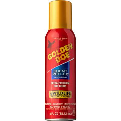 WILDLIFE RESEARCH CENTER® GOLDEN DOE SPRAY CAN 3 OZ.