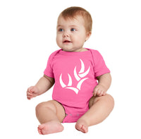 WHO RABBIT SKINS™ NEWBORN INFANT SHORT SLEEVE BABY RIB BODYSUIT