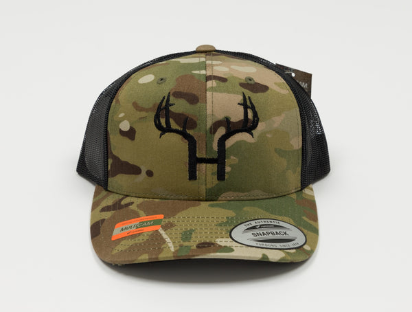 HORNY DEER SCENTS MULTICAM HAT