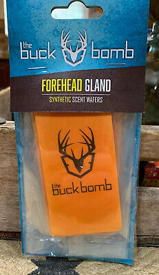 The Buck Bomb: Doe N Estrus Synthetic Scent Wafers 3pk