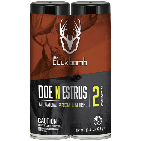 the buck bomb DOE N ESTRUS COMBO - 2 PACK
