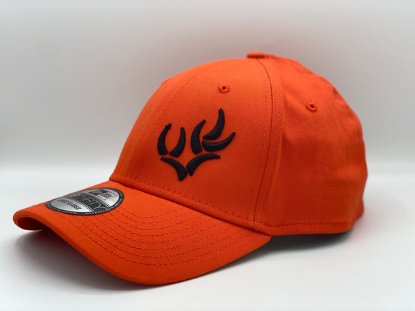 WHO NEW ERA® - ORANGE STRUCTURED STRETCH COTTON CAP