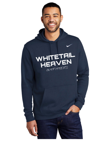 WHO NAVY NIKE CLUB FLEECE PULLOVER HOODIE