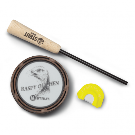 HS STRUT™ RASPY OLD HEN GLASS WILD TURKEY CALL