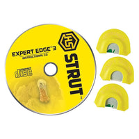 HS STRUT™ EXPERT EDGE 3 MOUTH TURKEY CALL SET WITH DVD