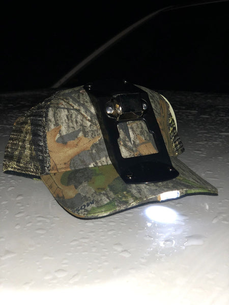 GREATER GRACE HAT WITH LIGHT IN THE BILL & LIGHT MANTLE