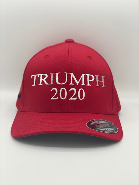 "WHITETAIL HEAVEN ""NO IMPEACH TRIUMPH 2020"" FLEXFIT HAT"