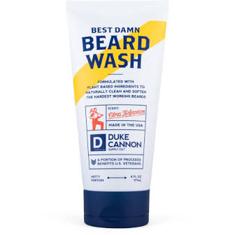 DUKE CANNON® BEST DAMN BEARD WASH