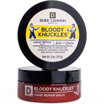 DUKE CANNON® BLOODY KNUCKLES HAND REPAIR BALM - TRAVEL SIZE