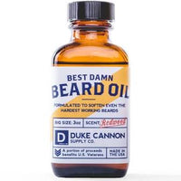 DUKE CANNON® BEST DAMN BEARD OIL