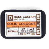 DUKE CANNON® SOLID COLOGNE - BIRCHWOOD (SPECIAL ISSUE)