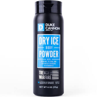 DUKE CANNON® DRY ICE BODY POWDER