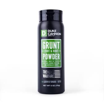 DUKE CANNON® GRUNT FOOT & BOOT POWDER