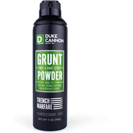 DUKE CANNON® GRUNT FOOT & BOOT POWDER SPRAY