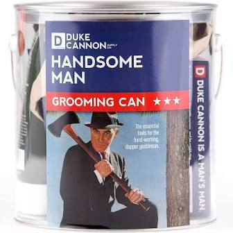 DUKE CANNON® HANDSOME MAN GROOMING CAN
