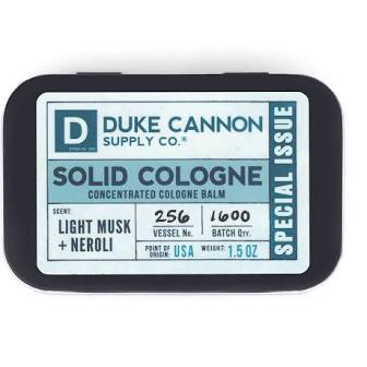 DUKE CANNON® SOLID COLOGNE - LIGHT MUSK + NEROLI (SPECIAL ISSUE)