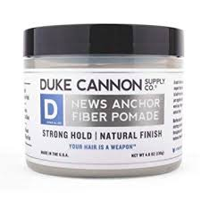 DUKE CANNON® NEWS ANCHOR FIBER POMADE - TRAVEL SIZE