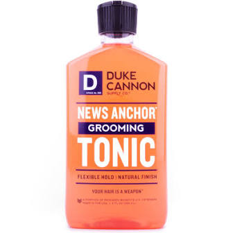 DUKE CANNON® NEWS ANCHOR GROOMING TONIC