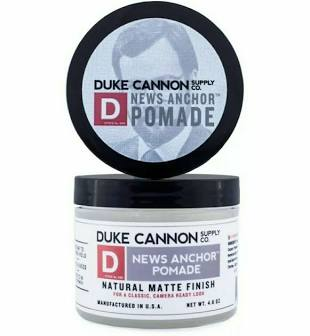 DUKE CANNON® NEWS ANCHOR POMADE - TRAVEL SIZE