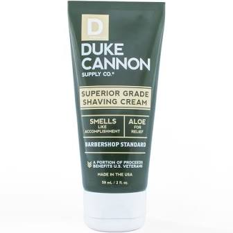 DUKE CANNON® SUPERIOR GRADE SHAVING CREAM