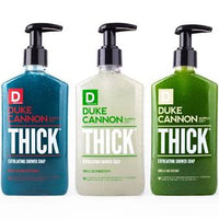 DUKE CANNON® TRIPLETHICK EXFOLIATING SHOWER SOAP VARIETY PACK