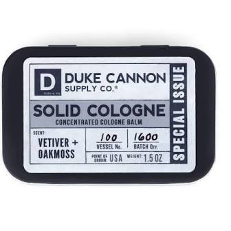 DUKE CANNON® SOLID COLOGNE - VETIVER + OAKMOSS (SPECIAL ISSUE)