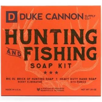 DUKE CANNON® HUNTING + FISHING SOAP KIT