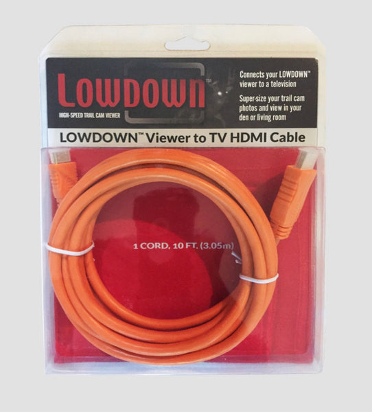 LOWDOWN™ HDMI CABLE (10ft.)