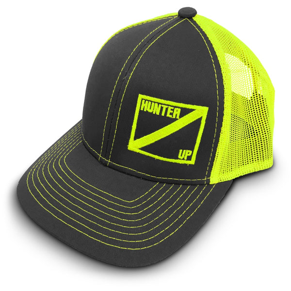 Hunter Up Neon Trucker Hat