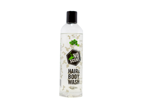 NO SCENT HAIR & BODY WASH (12OZ)