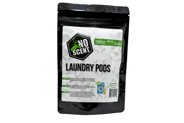 NO SCENT LAUNDRY PODS (20 PODS)