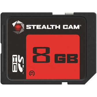 STEALTH CAM® 8GB SD MEMORY CARD