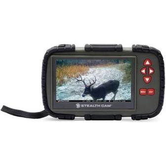 "STEALTH CAM SD CARD READER/VIEWER W/ 4.3"" LCD SCREEN"