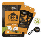 WILD CARROT 10-PACK DEER ATTRACTANT - ESTRUS DOE