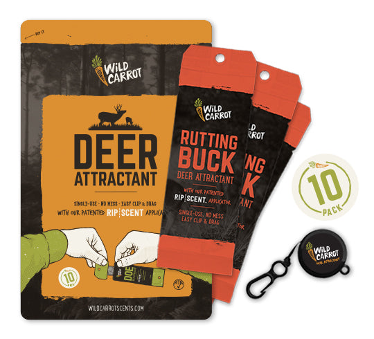 WILD CARROT 10-PACK DEER ATTRACTANT - RUTTING BUCK