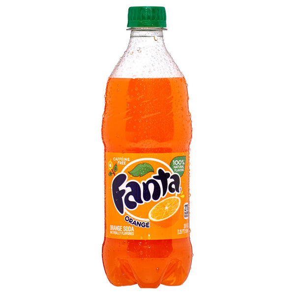 FANTA - ORANGE 20 OZ.