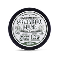 *NEW* DUKE CANNON® SHAMPOO PUCK - FIELD MINT