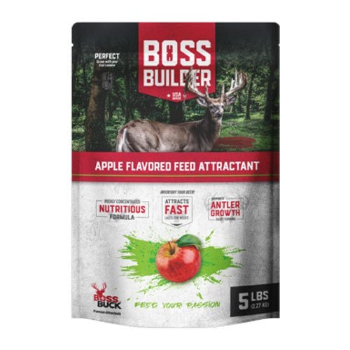 BOSS BUCK® BOSS BUILDER APPLE FLAVORED FEED ATTRACTANT