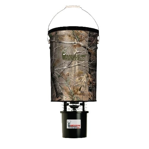 AMERICAN HUNTER® 50 LB CAPACITY HANGING FEEDER W/ R-KIT PRO/ REALTREE AP CAMO