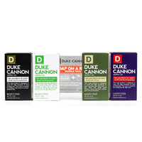 DUKE CANNON® TACTICAL SCRUBBER + SOAP BUNDLE